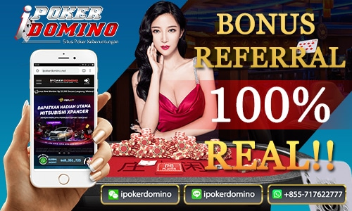 Bonus referral - ipokerdomino